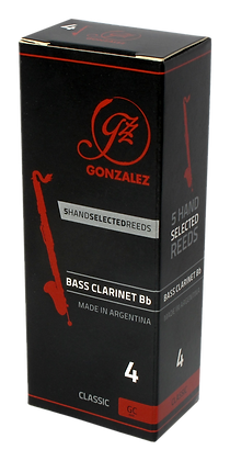 Art.GR02- González Reeds Classic Bass Clarinet