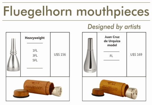 mouthpieces for flugelhorn