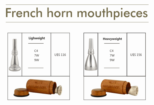 mouthpieces for french horn