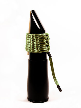 Art.AC08- Bambú's String Ligature for Bb Clarinet (olive green)