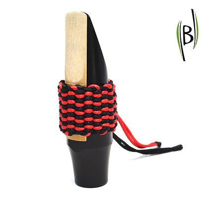 Bicolour String Ligature Bambú (RED-BLACK)