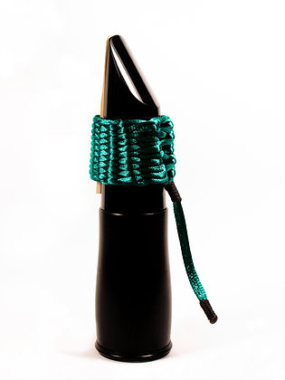 Art.AC09- Bambú's String Ligature for Bb Clarinet (midnight green)