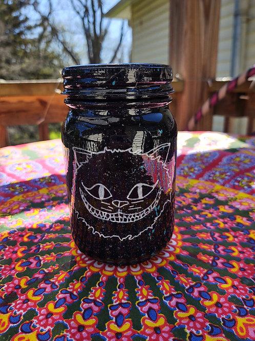 Cheshire Cat Stash Jar