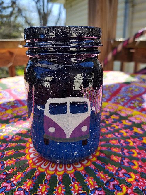 Hippie Bus Stash Jar