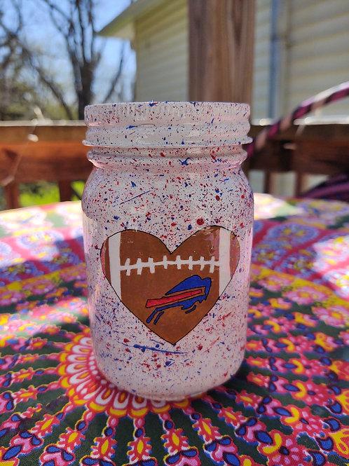 Bills Heart Stash Jar