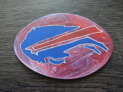 5 in. Wooden Bills Magnet