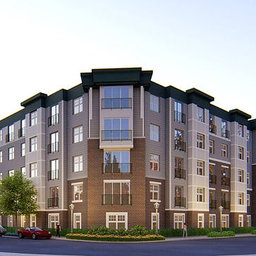 Apartment complex with HERS rating and energy efficient construction.