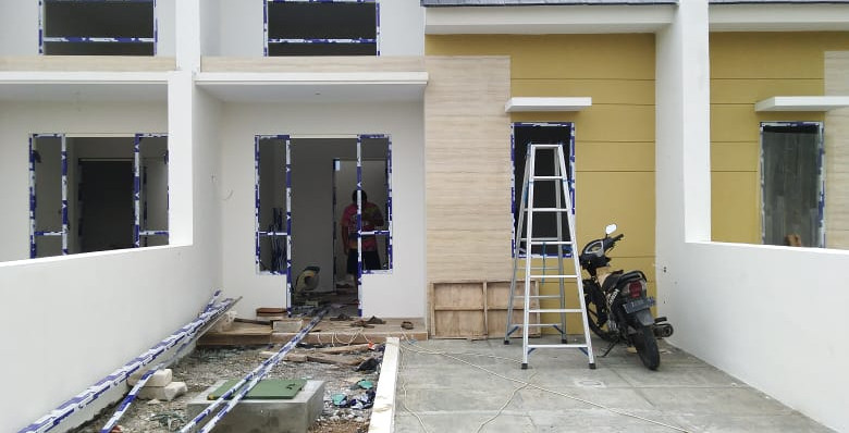 Progress Rumah Stock