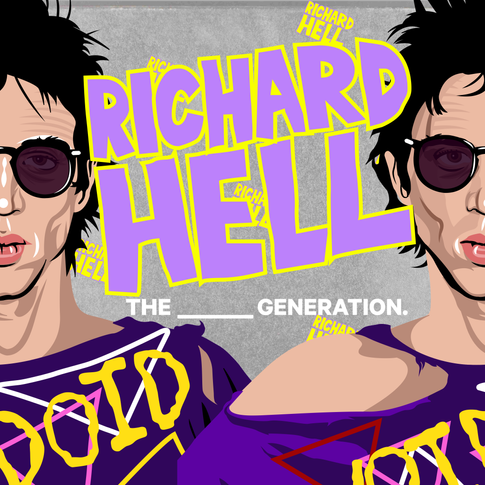 71st Birthday, Richard Hell