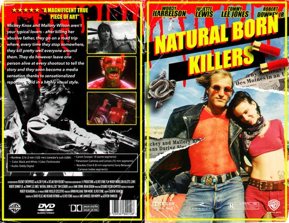 Natural Born Killers - DVD Case