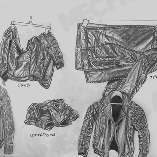 Four Different Clothe Shapes