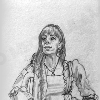 20 min Live Drawing