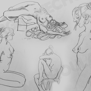 5 minute Live Drawings
