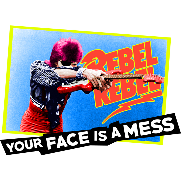 Your Face is a Mess