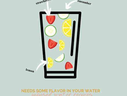 Needs some flavor in your water? | How's the #gallonaday water challenge going?