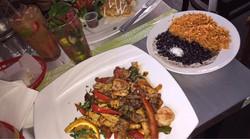 Chicken, Shrimp & Steak Fajitas