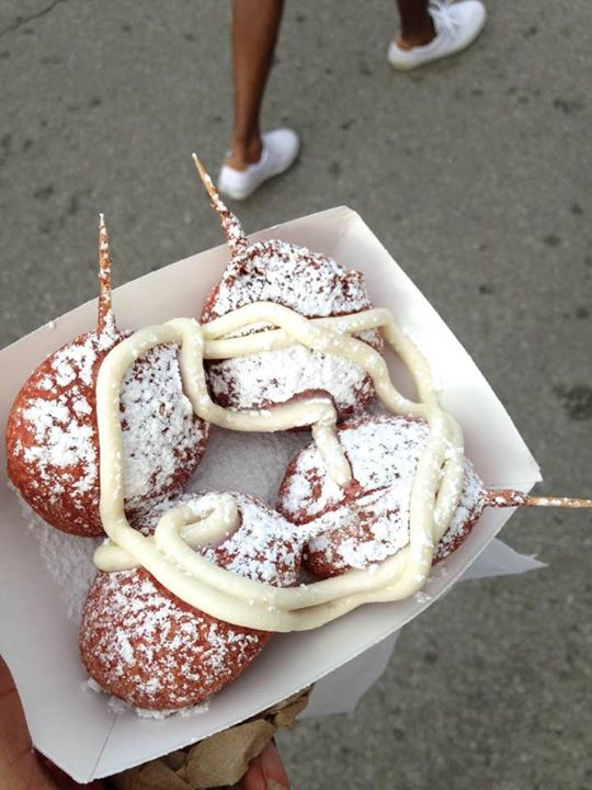Red Velvet Deep Fried Oreos