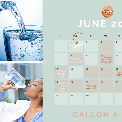 Never drank a gallon before? No worries, here's the modified challenge! | #GALLONADAY