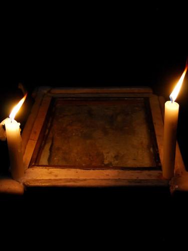 "Gerusalemme Santo Sepolcro. ""Pietra dell'angelo"""