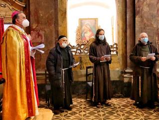 Terzo anniversario della Fraternità interobbedienziale francescana di Rieti