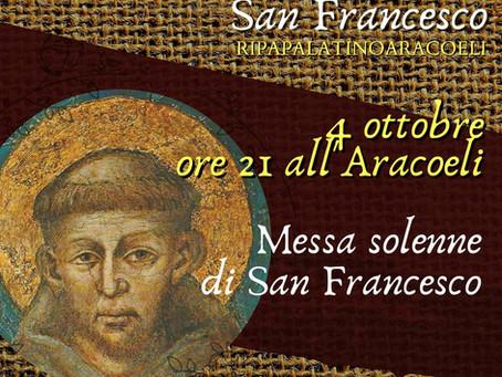 Messa solenne di S. Francesco (canti)