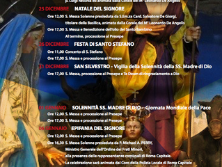Celebra il Natale e l'Epifania nella tradizione della Basilica dell'Ara Coeli