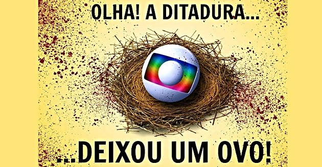 Resultado de imagem para E a Globo que age criminosamente contra a nação brasileira