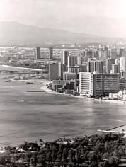 Above Honolulu