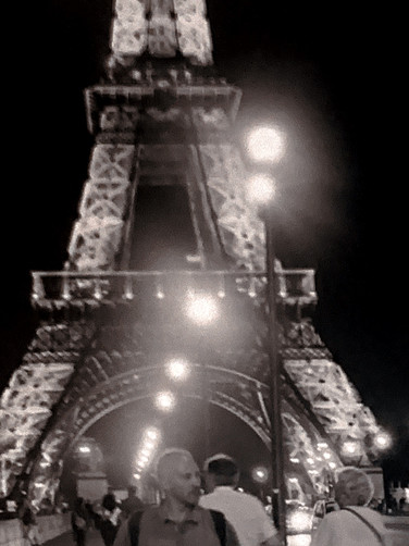 Eiffel Tower at Night #3