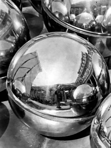 Spheres from the Louvre #2