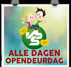 bannertje opendeurdag VBS voor websitefo