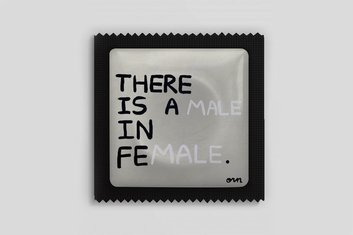 There is a Male In Female
