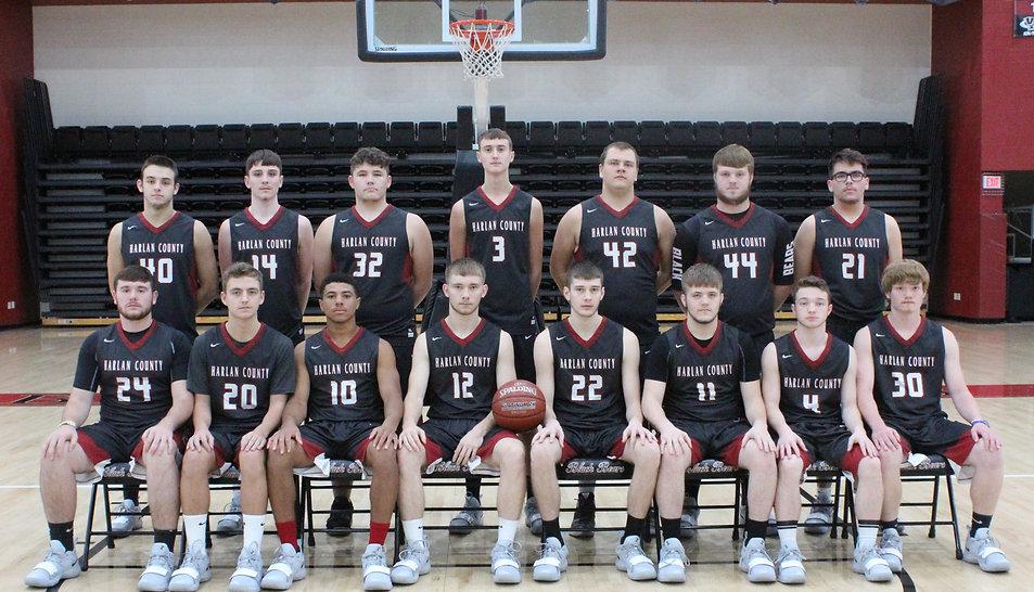 HCHS Boys Basketball Team