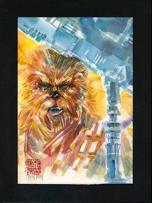 Chewbacca - Original Watercolor Art
