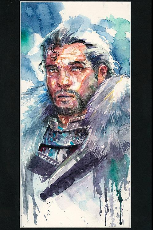 John Snow - Original Watercolor Art