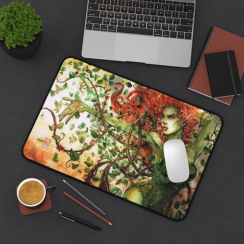 Poison Ivy Watercolor Desk Mat / Mouse Pad