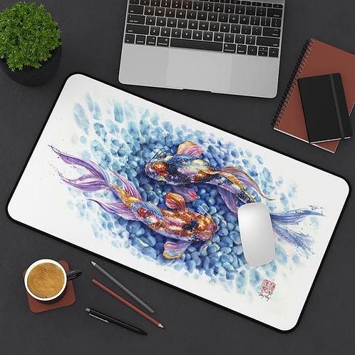 Piscean Koi Desk DeskMat / Mouse Pad / Playmat