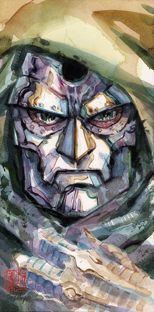 Dr. Doom Close up