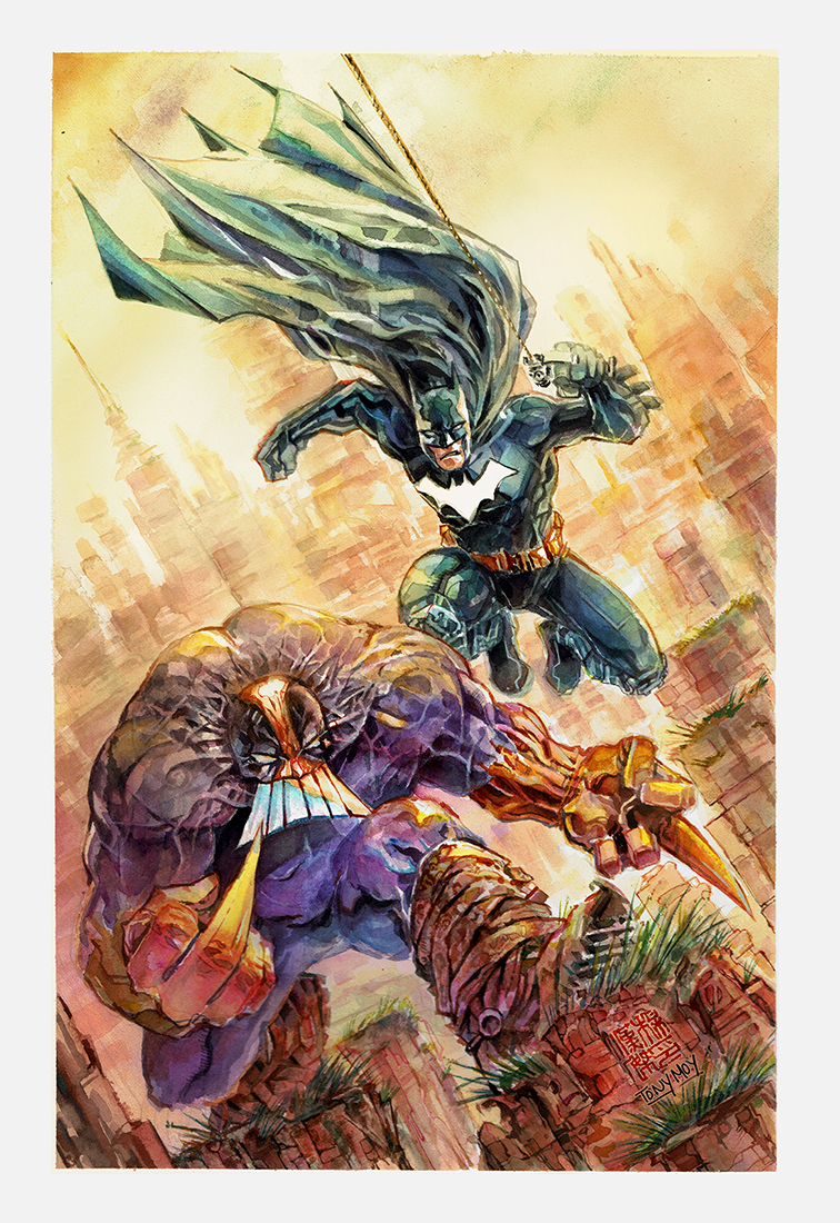 Batman Vs the Maxx Cover