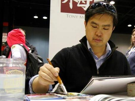Virtual Fan Meetup - Boston Comic Con - Featured Artist