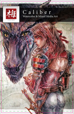 Watercolor Artbook Cover