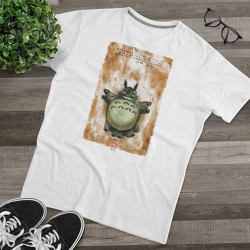 Vitruvian Totoro Watercolor - Men's Modern-fit Tee