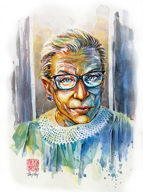 Ruth Bader Ginsburg - I Dissent - Portrait of an Icon