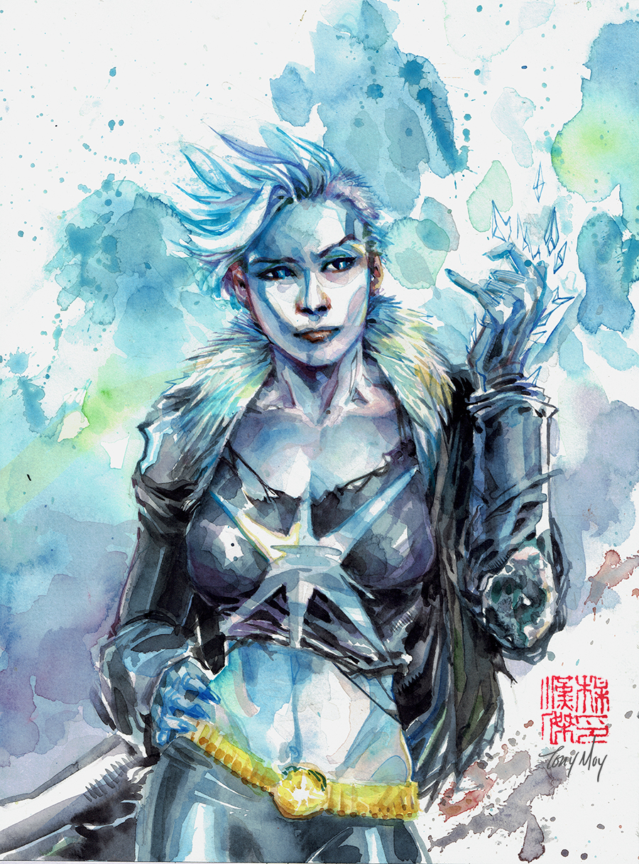 Watercolor Killer Frost