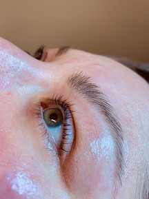 lashes after