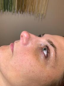 side shot of lashes