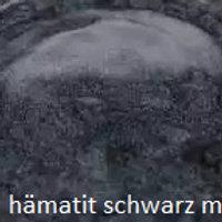 Hämatit schwarz metalic