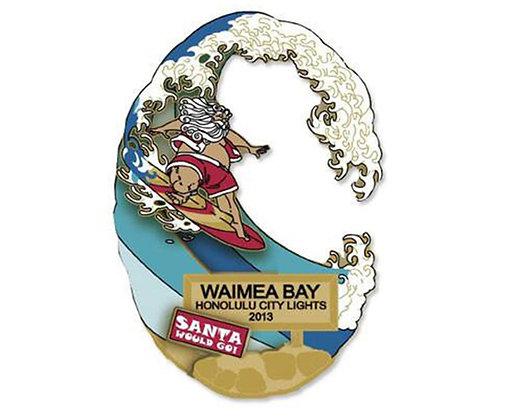 """2013 """"SANTA SURFING WAIMEA"""""""