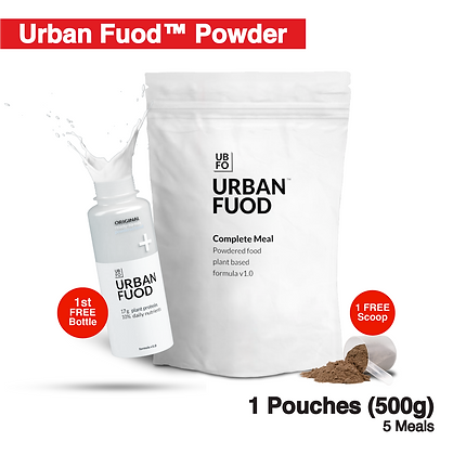 1 Pouch (500g) + FREE Bottle (Key-in Promo Code at Checkout for FREE)