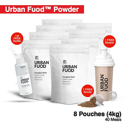 8 Pouches (4kg) + FREE Bottle (Key-in Promo Code at Checkout for FREE)